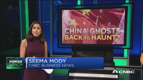 China's ghost?