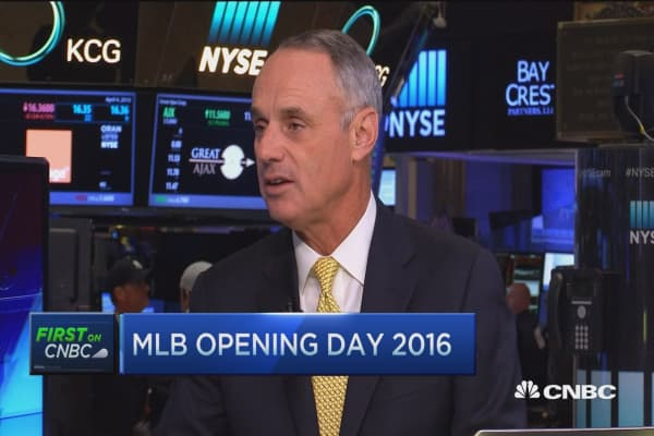 MLB commissioner: Two areas of focus for baseball this year