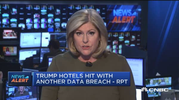 Trump hotels hit with another data breach: Rpt