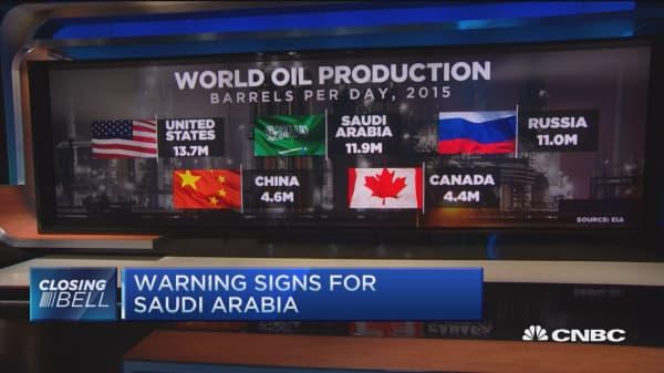 Saudi Arabia: The end of an oil high?