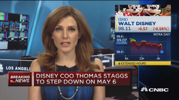 Disney's COO to step down