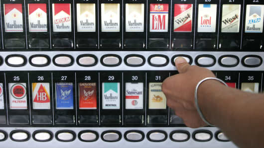 Cigarette dispensary