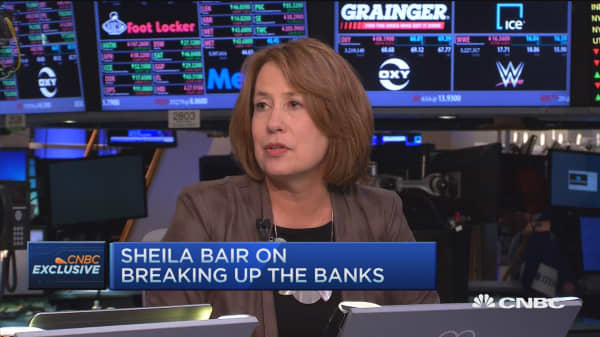 Sheila Bair on 'too big too fail'