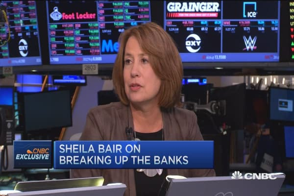 Sheila Bair on 'too big too fail'
