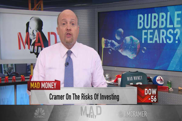Cramer: Donald Trump is right, there's a bubble