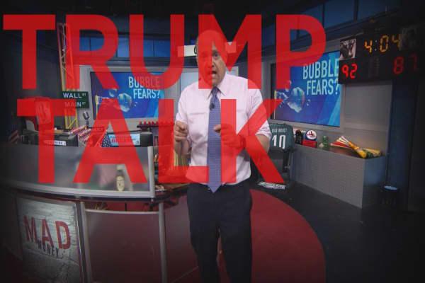 Cramer Remix: Don't fear Trump's negative talk