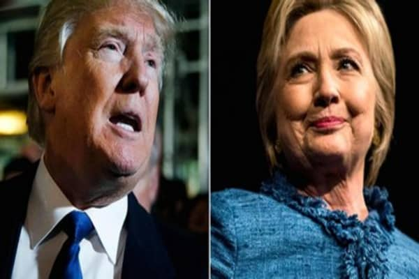Trump, Clinton trail as Wisconsin voters head to polls
