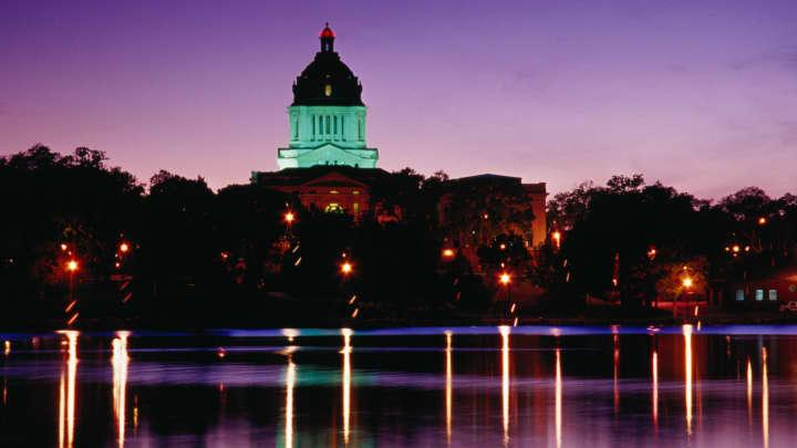 South Dakota Capitol Building in Pierre