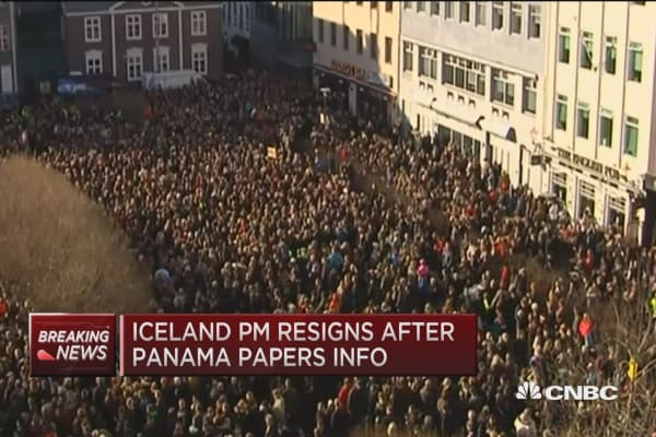 Iceland PM re