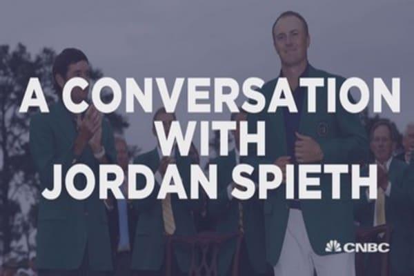 Jordan Spieth Talks Masters