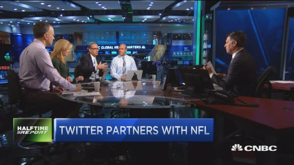 Trading the NFL-Twitter partnership