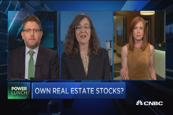 Time to own real estate stocks?