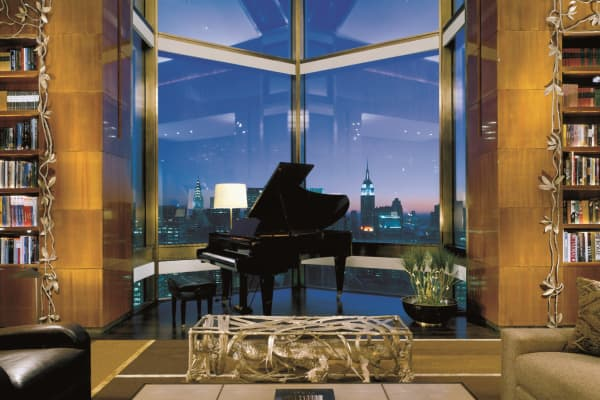 The $50,000 a night Ty Warner Penthouse at the Four Seasons New York