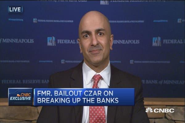 Kashkari: Dodd-Frank has done some good, but contagion risks remain