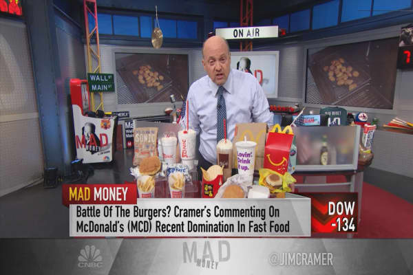 Cramer: One player McDonald's hasn't dominated