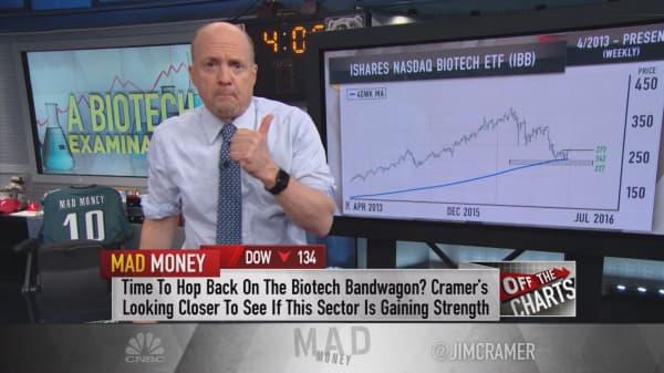 Cramer: Hope for biotech in the blast zone