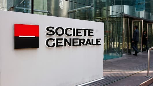 Societe Generale SA (GLE) PT Set at €55.00 by HSBC Holdings plc