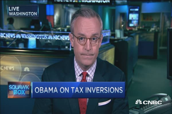 Tax inversion buzz on Capitol Hill