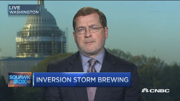 Real problem behind tax aversion: Grover Norquist