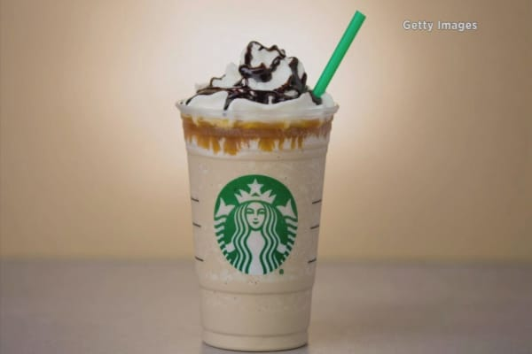 Starbucks brings back frappuccino for caramel lovers