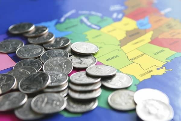 Taxes states