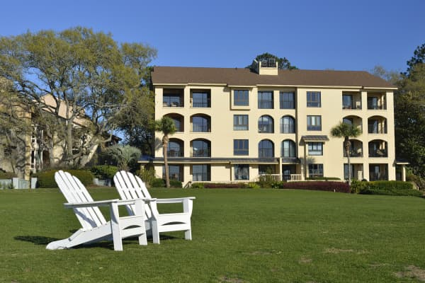 Vacation apartments on Hilton Head Island, South Carolina.