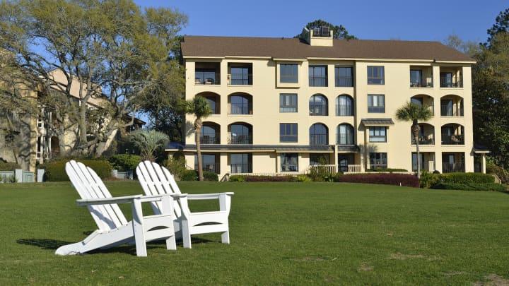 Vacation apartments on Hilton Head Island, South Carolina.