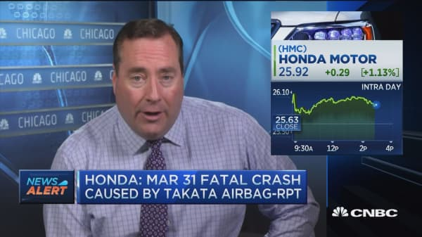 Honda fatal crash caused by Takata airbag: Rpt