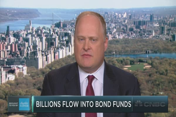 Money flows out of stock and into bonds