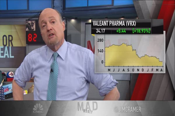 Cramer: Thank the Treasury for accidental rally