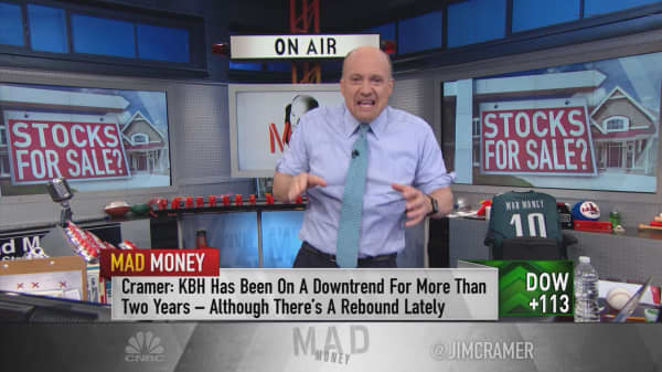 Cramer: KB Home prime for a takeover by THIS...