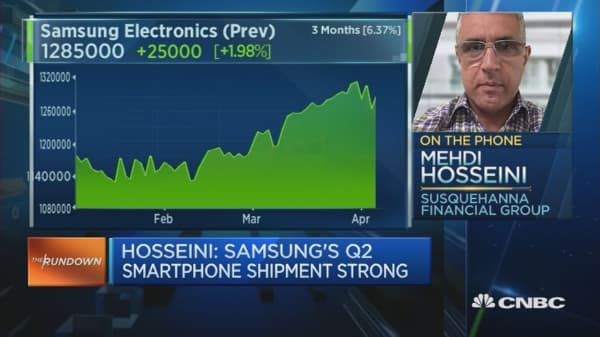 Samsung Q1 Earnings