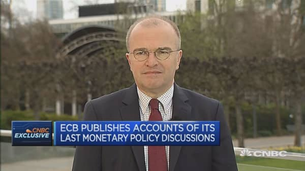 ECB minutes released today