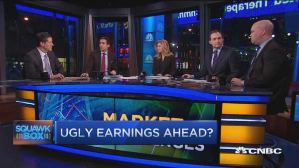 Market's earnings challenge
