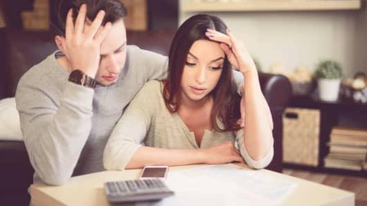 Millennials doing taxes
