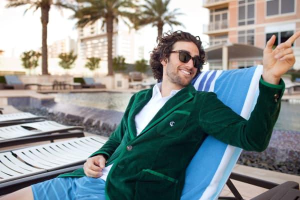 The Criquet green jacket