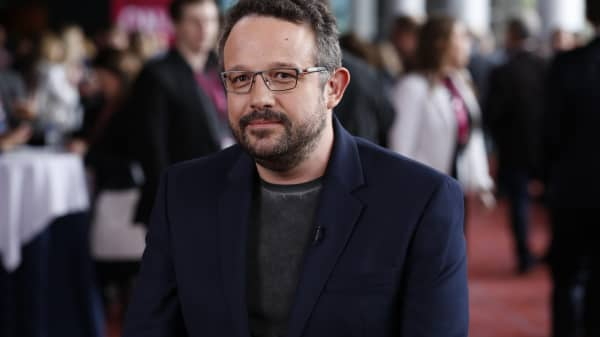 Phil Libin, co-founder and CEO of Evernote, at the iConic:Seattle conference on April 5, 2016.
