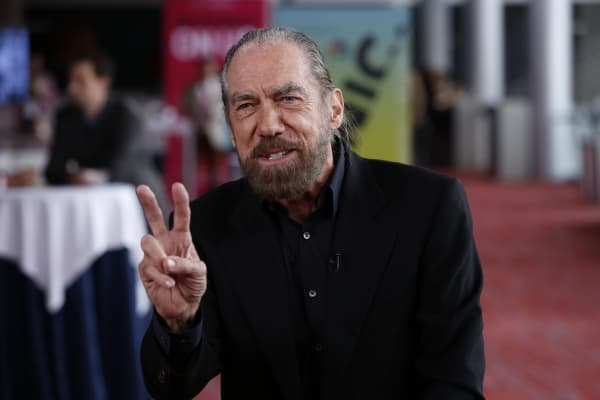 John Paul Dejoria, co-founder Paul Mitchell and Patron Spirits Co., at the iConic:Seattle conference on April 5, 2016.