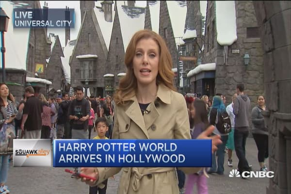 Harry Potter World launches