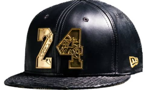 The Los Angeles Lakers sell a Kobe Bryant hat for $38,000.