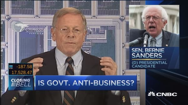 Is the government anti-business?