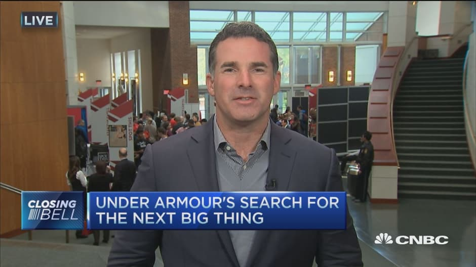 Under Armour CEO: Now good a time as any for entrepreneurs