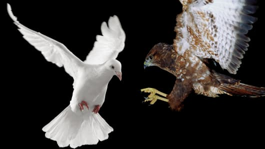 Dove vs Hawk