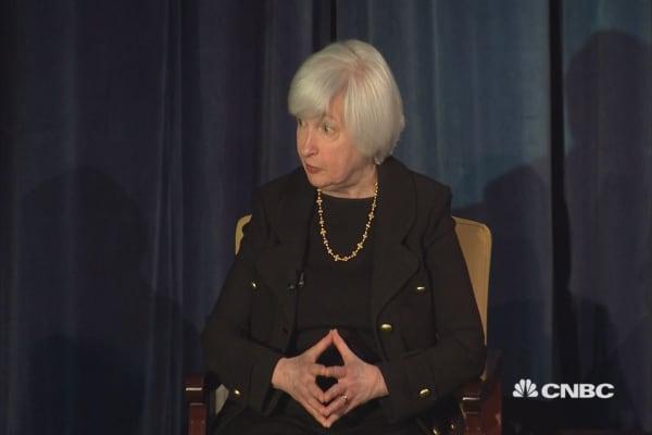 Yellen: Not a bubble economy