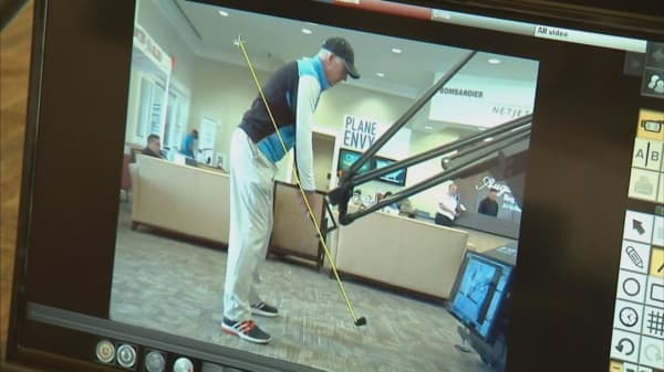Learn how to golf with a robot
