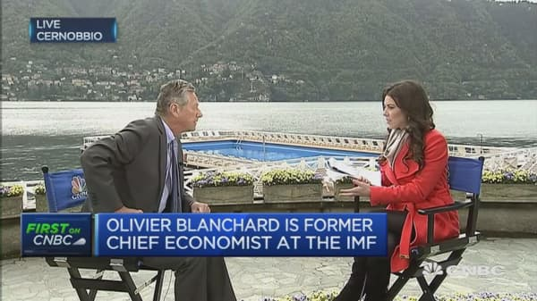 The ECB should not use negative rates: Blanchard