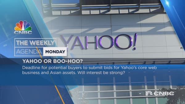 Weekly Agenda: Yahoo!, Argentina, China