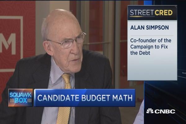 Bowles-Simpson: Trump debt vision won't work