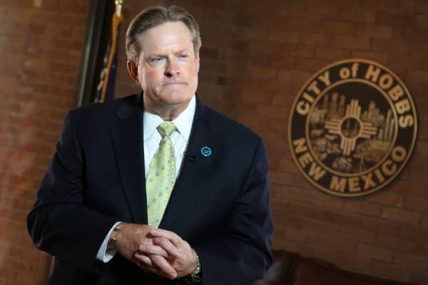 Sam Cobb, Mayor of Hobbs, New Mexico