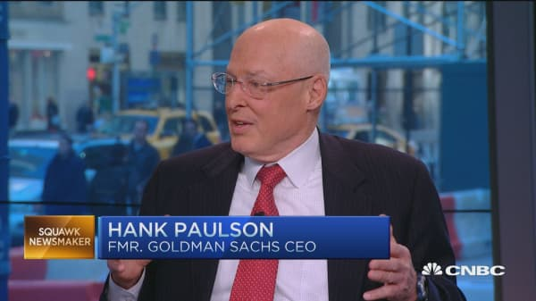 Inversions a symptom not the problem: Hank Paulson